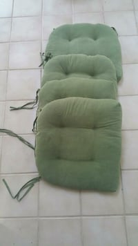 Four Sage Green Chair Cushions Lanham, 20706
