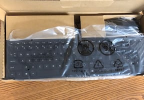 Wired USB Keyboard + Mouse Combo