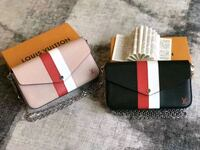 white and red leather wallet Toronto