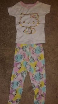 Cute Hello Kitty Pijamas size 4 Alexandria, 22302