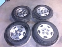 235 75 15 tires on 2001 S10  wheels Connellsville