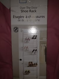 Brand New, open box Over the door shoe rack Shakespeare