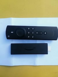 Amazon Fire Stick With Remote & Charger Cord