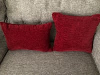 Red throw pillows Oceanside, 92056