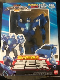Mini Force BOLTBOT Transforming Robot Toy Whittier, 90601