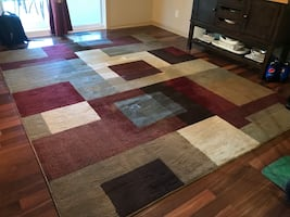 Multi Colored Area Rug
