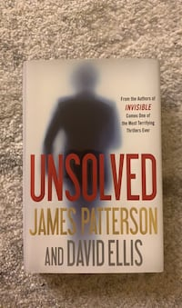 Like New Hardcover Unsolved by James Patterson and David Ellis Arlington, 22203