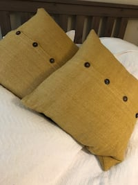 West Elm Silk Hand-Loomed Pillow Cover (sold as pair, covers only) Coral Gables, 33134