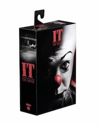 NECA Stephen Kings IT Pennywise Solar Body Knocker & Action Figure Brand New Hamilton