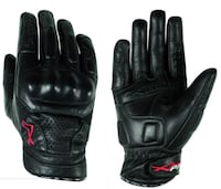 Leather Motorcycle Gloves - size L Toronto