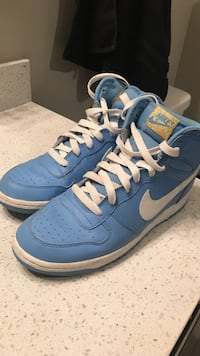 Carolina blue Nikes