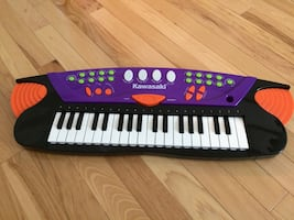 Kids Kawasaki Musical Electronic Keyboard Piano