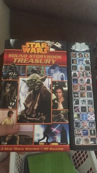 Star wars sound storybook treasury box.  Markham