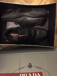 pair of black Nike basketball shoes with box Baltimore, 21229