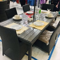 Beautiful 7 piece Outdoor Dining set Moreno Valley, 92557