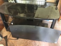 Metal and glass entertainment stand Carmel, 46032