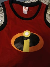 Incredibles workout jersey size Large/XL. NEW