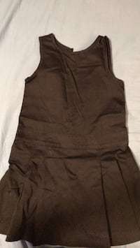 women's brown sleeveless dress Surrey, V3W