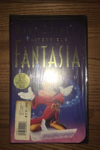 Fantasia VHS (brand new/unopened still shrink wrapped)