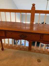 Antique Oak Entry Way Table Fort Mill, 29707