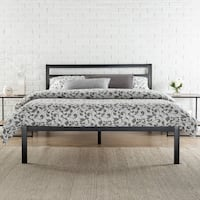 Zinus 14 Metal Platform Bed with Headboard, Queen , SKU # 57084, 57248 Santa Fe Springs