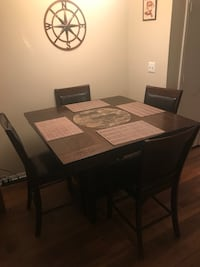 Wood table with chair obo Stone Mountain, 30088