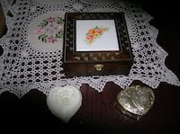 Three Jewelry Boxes /Few Jewelry Items also Springfield