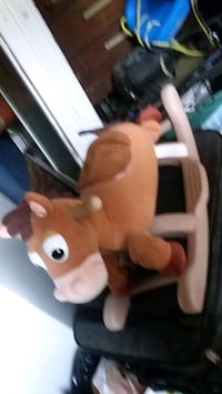 rocking. horse from toy store