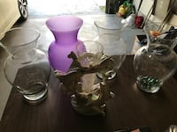 5 beautiful vases $15 for all 5 Grayslake, 60030