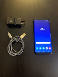 SAMSUNG GALAXY S8 PLUS WITH FAST CHARGER