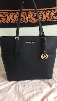 black Michael Kors leather tote bag Silver Spring, 20902