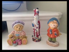 Old Saint Nick, Teddy Bear,Bell ringer