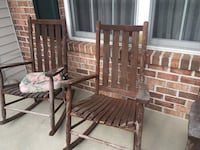 Outdoor rocking chairs Reading, 19605