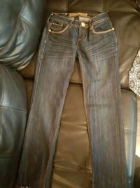 two blue and black denim jeans Regina, S4T 4H9