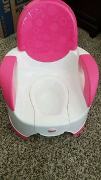 baby's white and pink potty trainer San Antonio