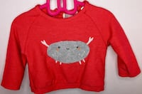 Red and white crew-neck sweater Brampton, L6Y 4Y3