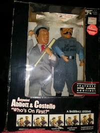 Abbott & Costello animated figurines 303 mi