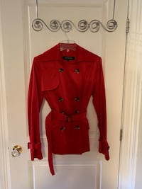 Red Italian made coat Mississauga, L5W 1A1