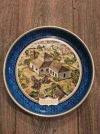 Antique 1976 Pabst serving tray. Perfect condition from the box Inwood, 25428