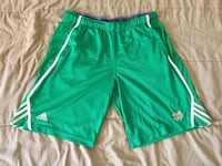 Adidas Notre Dame Fighting Irish Green Climalite Basketball Shorts Mens Sz Large Tempe, 85281