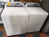 WHIRLPOOL CABRIO TOP LOAD WASHER AND GAS DRYER SET Corona, 92883