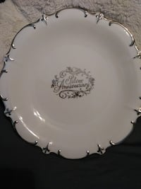 Silver Anniversary collector plate