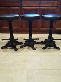 Beautiful cast iron bar stools Oxnard, 93036