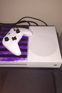 Xbox one S with controller and cables