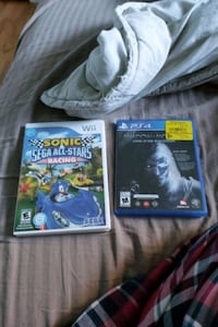 sonic racing wii et shadow of mordor en bon état  Repentigny, J6A 1R2