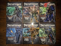 Pathfinder Adventure Path - Second Darkness - COMPLETE SET - Vol 13-18 Herndon
