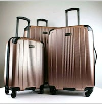 KENNETH COLE SUITCASE SPINNER LUGGAGE ROSE GOLD 1pc Milford Mill, 21244