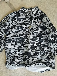 white grey and black camouflage jacket Centreville, 20121