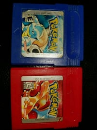 Pokemon Nintendo games for sale red and blue Brampton, L6S 1J9
