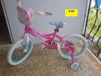 toddler's pink and white bicycle Aguadilla Pueblo, 00603